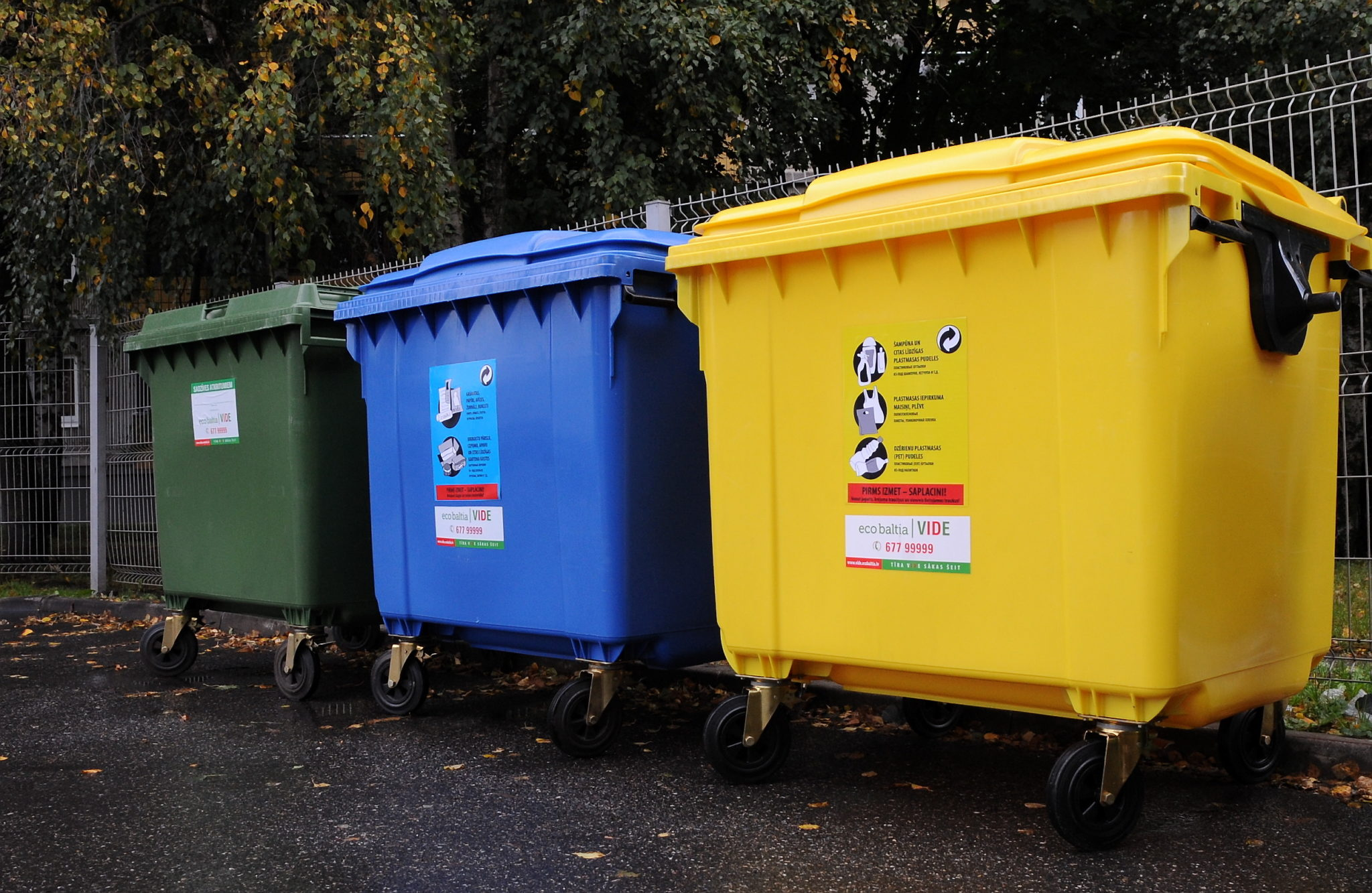 """SIA """"Eco Baltia vide"""" personalizē šķiroto atkritumu izvešanas grafiku privātpersonām Mārupē"""