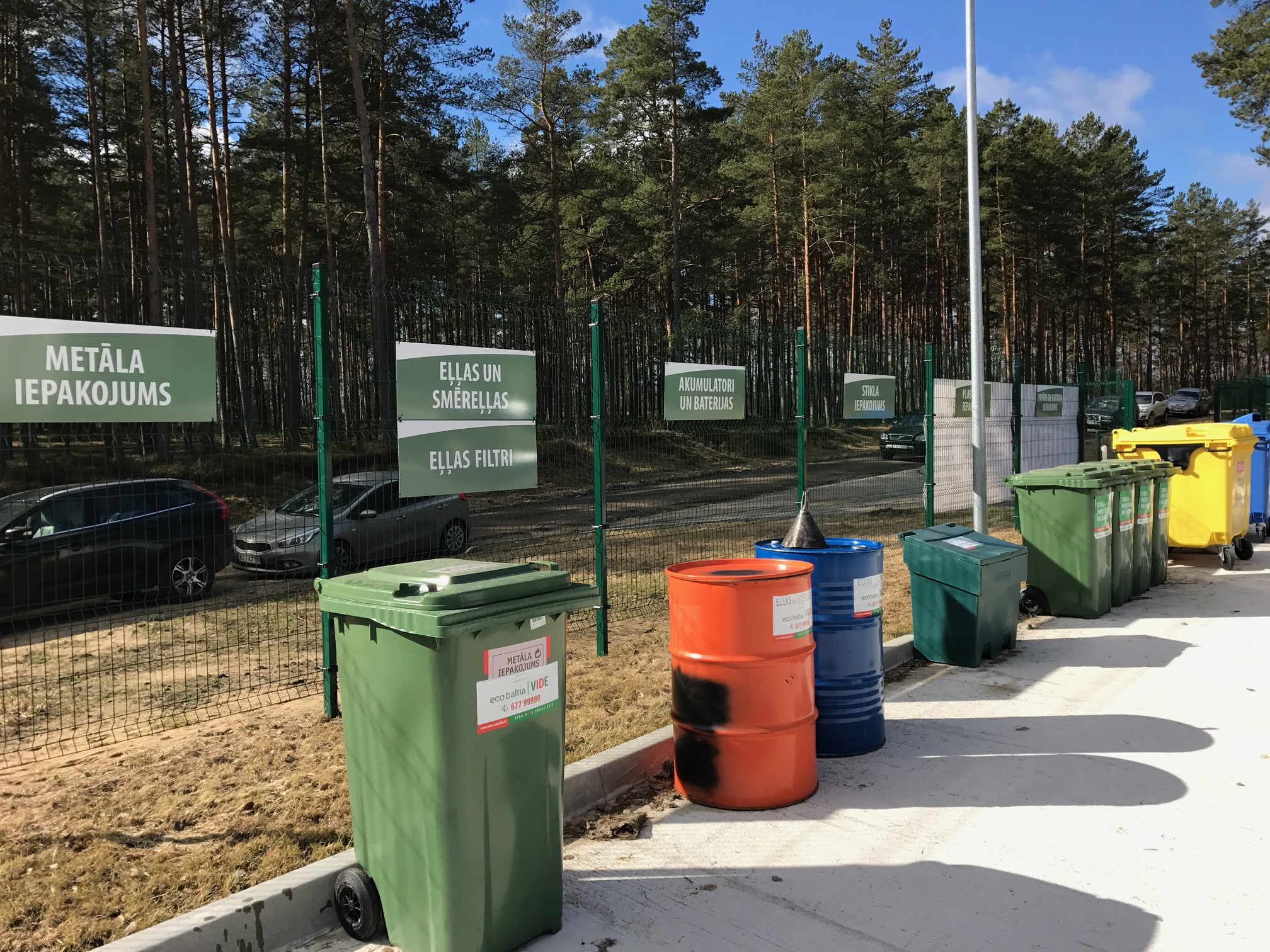 "By attracting finances from the EU funds, LLC ""Eco Baltia vide"" will expand the sorting facilities in Ādaži"