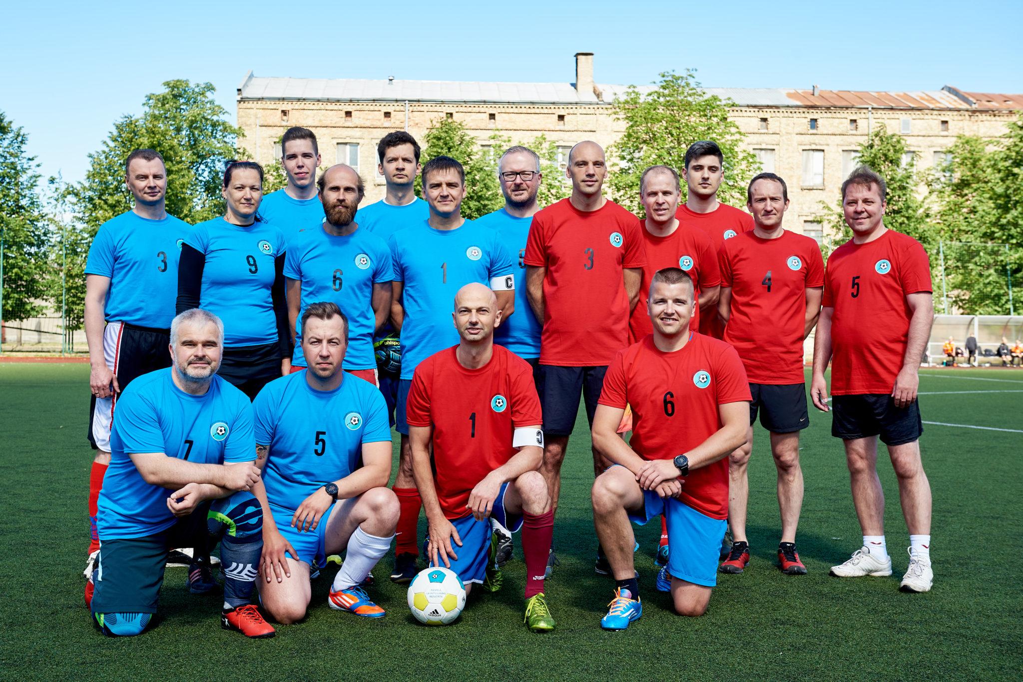 Ar futbola spēli aizsāk cīņu pret administratīvo slogu