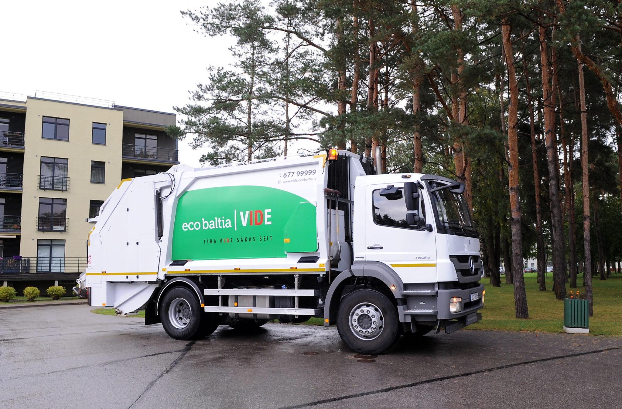 """SIA """"Eco Baltia vide"""" turpinās nodrošināt atkritumu apsaimniekošanu Ādažu novadā"""